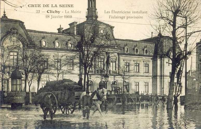 les inondations de janvier 1910 17 cartes postales. Black Bedroom Furniture Sets. Home Design Ideas